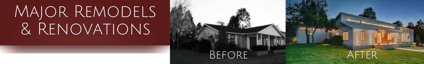 Major Remodels & Renovation
