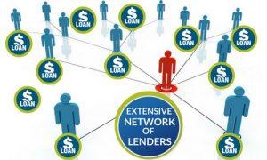 Extensive Network of Lenders