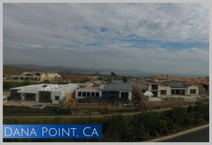 Newly construction in the Headlands project at Dana Point, CA this home sits on a bluff