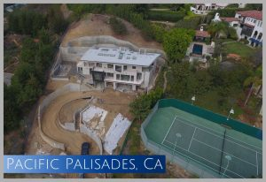 This home was already 75 complete when we were asked to assist with financing its completion in Malibu, CA