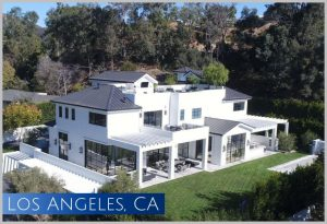 This newly constructed estate home in Los Angeles, CA recently sold for $24 million