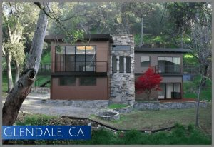 This Glendale home was built using a construction loan after a fire demolished the original home