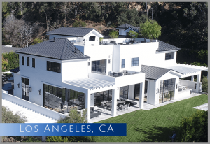 This $30 million home started out as a 1950's ranch style home before full demolition and rebuilding 15,000 sqaure feet of new ultra-luxury home for a famous NBA player