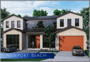 """rendering of a new Spec construction home in the """"Port Street"""" of Newport Beach, CA 29660"""