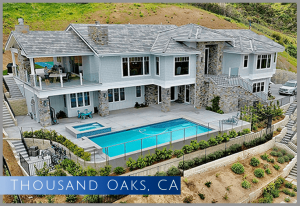 Just completed, New Luxury Home build on a vacant lot in Thousand Oaks, CA